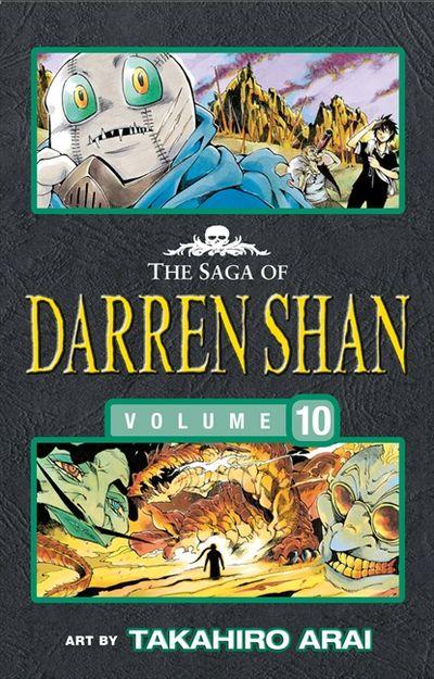 The Saga of Darren Shan (10) - The Lake of Souls [Manga Edition]