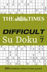 The Times Difficult Su Doku Book 7: 200 dreadfully tricky Su Doku puzzles