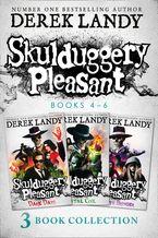 Skulduggery Pleasant: Books 4 – 6 The Death Bringer Trilogy: Dark Days, Mortal Coil, Death Bringer eBook DGO by Derek Landy