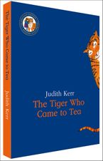 The Tiger Who Came to Tea Slipcase Edition Hardcover  by Judith Kerr