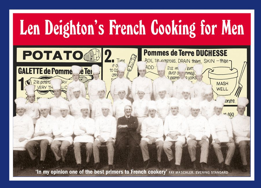 Len deightons french cooking for men 50 classic cookstrips for enlarge book cover fandeluxe Gallery