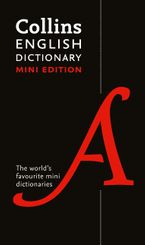 Collins Mini English Dictionary Paperback  by Collins Dictionaries
