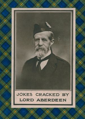 Jokes Cracked By Lord Aberdeen book image