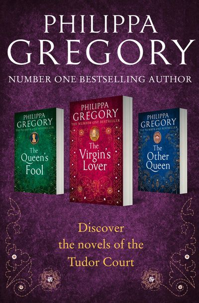 Philippa Gregory 3-Book Tudor Collection 2: The Queen's Fool, The Virgin's Lover, The Other Queen