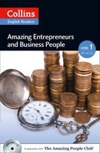 Amazing Entrepreneurs & Business People: A2 (Collins Amazing People ELT Readers) Paperback  by Helen Parker
