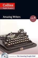 Amazing Writers: B2 (Collins Amazing People ELT Readers) Paperback  by Katerina Mestheneou
