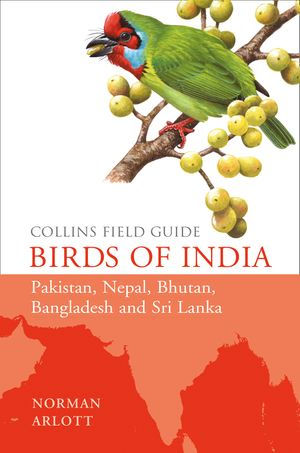 Birds of India (Collins Field Guide) book image