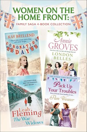 Women on the Home Front: Family Saga 4-Book Collection book image