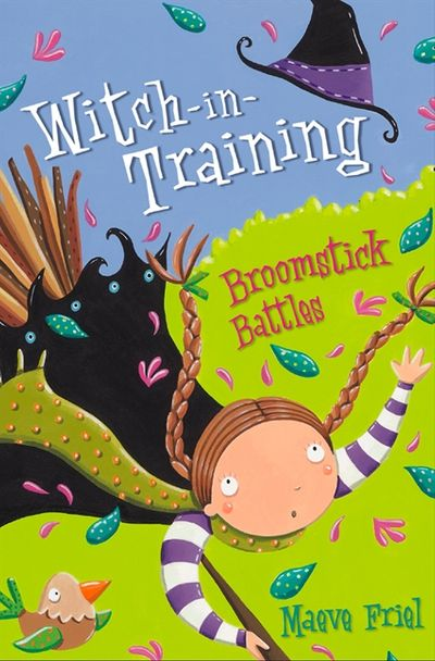Broomstick Battles (Witch-in-Training, Book 5)