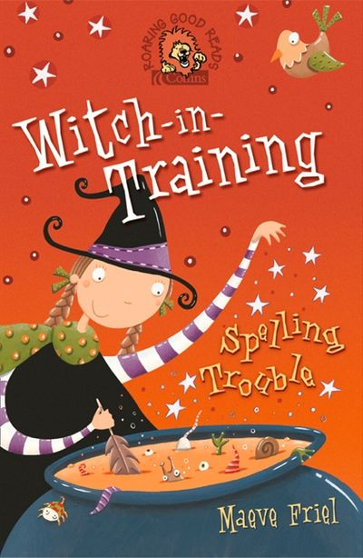 Spelling Trouble (Witch-in-Training, Book 2)