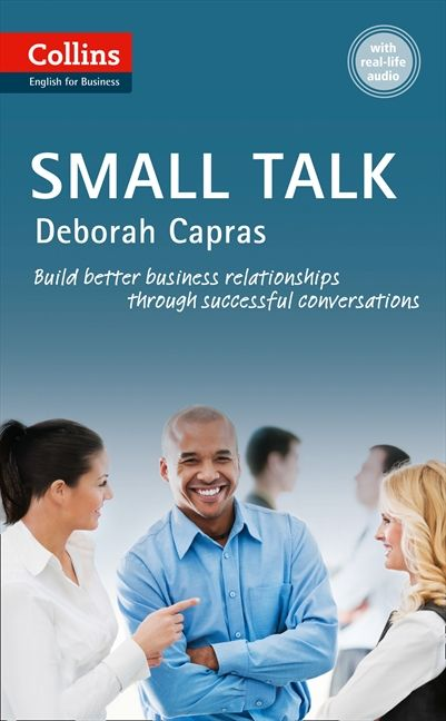 Business Communication Book Cover : Small talk b collins business skills and communication