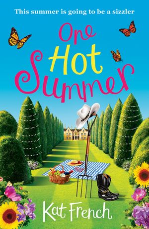 One Hot Summer: A laugh-out-loud love story book image