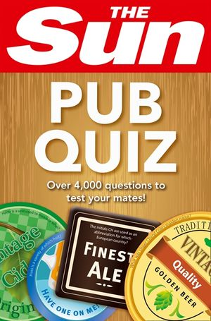 The Sun Pub Quiz book image