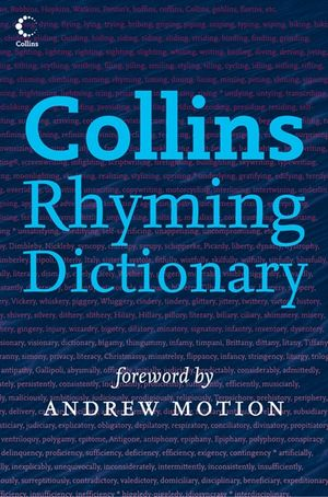 Collins Rhyming Dictionary book image