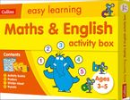 Maths and English Activity Box Ages 3-5 (Collins Easy Learning Preschool)