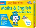 Maths and English Activity Box Ages 5-7 (Collins Easy Learning KS1)