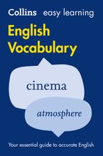 Easy Learning English Vocabulary (Collins Easy Learning English) Paperback  by Collins Dictionaries