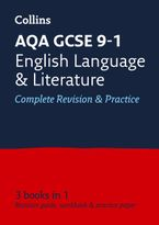 AQA GCSE 9-1 English Language and English Literature All-in-One Revision and Practice (Collins GCSE 9-1 Revision) Paperback  by Collins GCSE