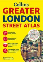 Greater London Street Atlas Paperback NED by Collins Maps