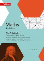 GCSE Maths AQA Foundation Reasoning and Problem Solving Skills Book (Collins GCSE Maths) Paperback  by Sandra Wharton