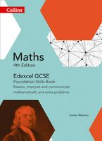 GCSE Maths Edexcel Foundation Reasoning and Problem Solving Skills Book (Collins GCSE Maths) Paperback  by Sandra Wharton
