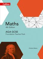 GCSE Maths AQA Foundation Teacher Pack (Collins GCSE Maths) Paperback  by Rob Ellis