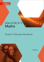 GCSE Maths AQA Grade 4/5 Booster Workbook (Collins GCSE Maths) Paperback  by