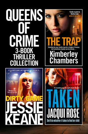 Queens of Crime: 3-Book Thriller Collection book image