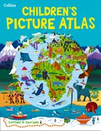 Collins Children's Picture Atlas Hardcover  by Collins Maps