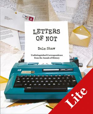 Letters of Not Lite book image