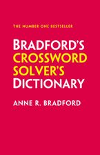 Collins Bradford's Crossword Solver's Dictionary Hardcover  by Anne R. Bradford