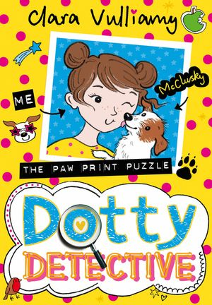 Dotty Detective and the Paw Print Puzzle (Dotty Detective, Book 2) book image