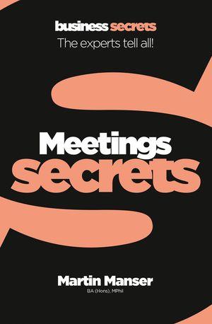 Meetings (Collins Business Secrets) book image