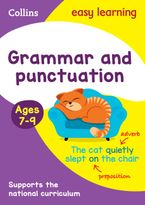 Grammar and Punctuation Ages 7-9: Prepare for school with easy home learning (Collins Easy Learning KS2) Paperback  by Collins Easy Learning