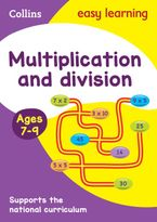 Multiplication and Division Ages 7-9: Prepare for school with easy home learning (Collins Easy Learning KS2) Paperback  by Collins Easy Learning