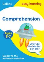 Comprehension Ages 5-7: Prepare for school with easy home learning (Collins Easy Learning KS1) Paperback  by Collins Easy Learning