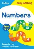 Numbers Ages 5-7: New Edition (Collins Easy Learning KS1) Paperback  by Collins Easy Learning