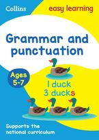Grammar and Punctuation Ages 5-7: Prepare for school with easy home learning (Collins Easy Learning KS1) Paperback  by Collins Easy Learning