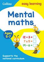 Mental Maths Ages 5-7: Prepare for school with easy home learning (Collins Easy Learning KS1) Paperback  by Collins Easy Learning