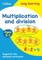 Multiplication and Division Ages 5-7: Prepare for school with easy home learning (Collins Easy Learning KS1) Paperback  by Collins Easy Learning