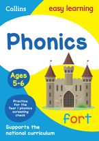 Phonics Ages 5-6: Prepare for school with easy home learning (Collins Easy Learning KS1) Paperback  by Collins Easy Learning