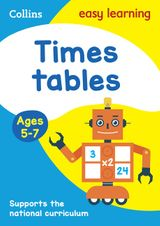 Times Tables Ages 5-7: New Edition (Collins Easy Learning KS1)