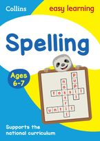 Spelling Ages 6-7: Prepare for school with easy home learning (Collins Easy Learning KS1) Paperback  by Collins Easy Learning