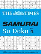The Times Samurai Su Doku 4: 100 challenging puzzles from The Times Paperback  by The Times Mind Games