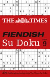The Times Fiendish Su Doku Book 9: 200 challenging Su Doku puzzles