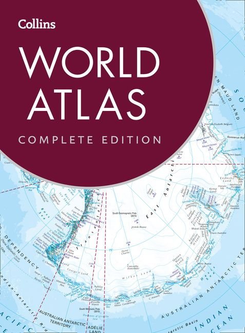 Collins world atlas complete edition collins maps hardcover enlarge book cover gumiabroncs Image collections