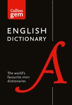 Collins English Gem Dictionary (Collins Gem) Paperback  by Collins Dictionaries