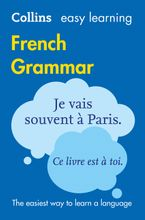 Easy Learning French Grammar (Collins Easy Learning French) Paperback  by Collins Dictionaries