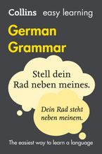 Easy Learning German Grammar (Collins Easy Learning German) Paperback  by Collins Dictionaries