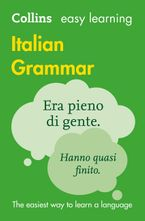 Easy Learning Italian Grammar Paperback  by Collins Dictionaries